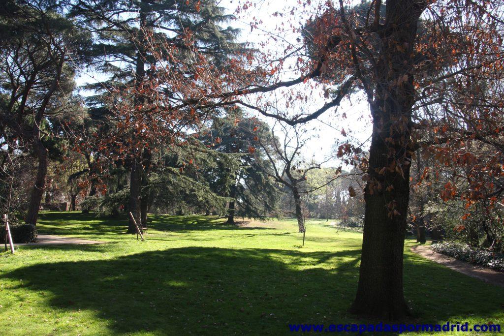 El Jardín del Capricho es un parque que invita al descanso