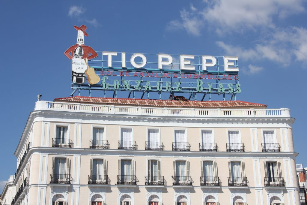 Cartel de Tio Pepe