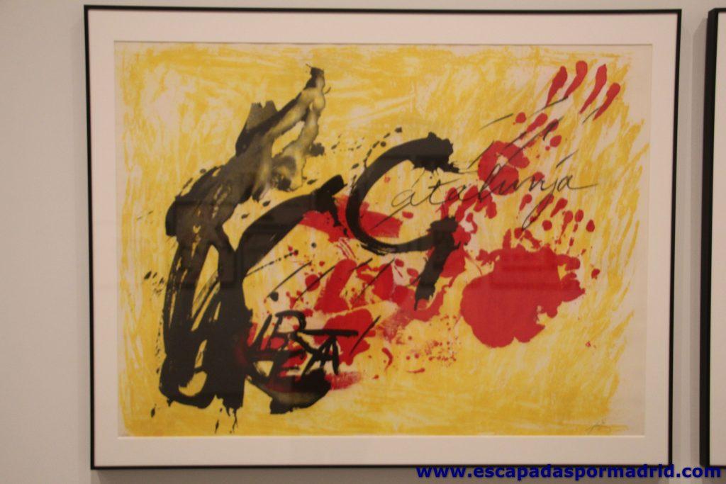 Antoni Tapies. Suite Catalana (1972)