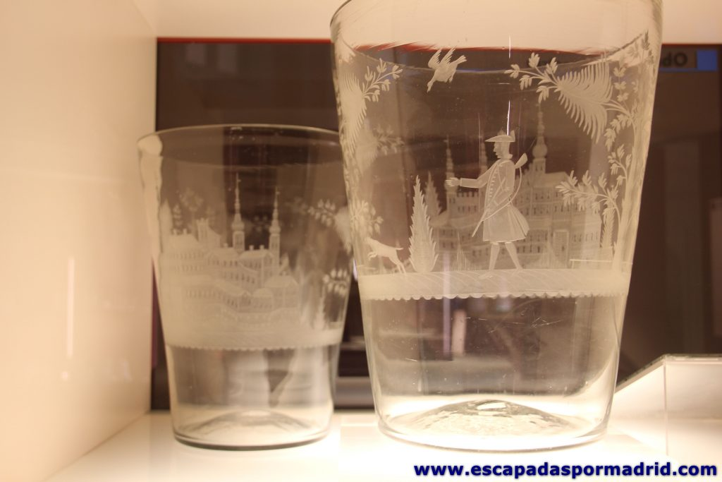 Vasos de Cristal de la Granja