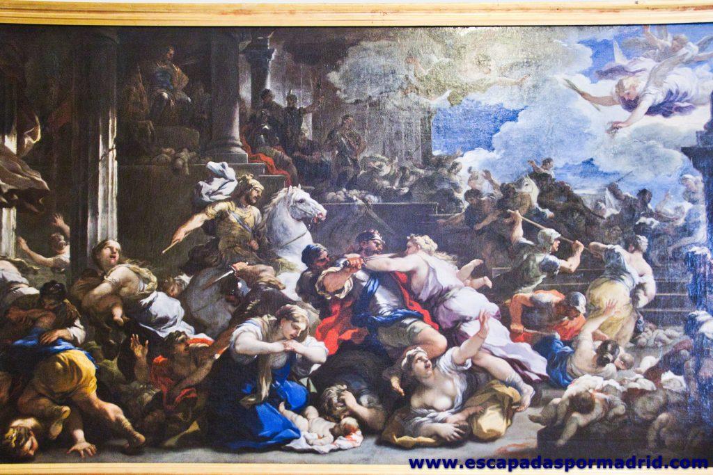 La Matanza de los Inocentes, de Luca Giordano