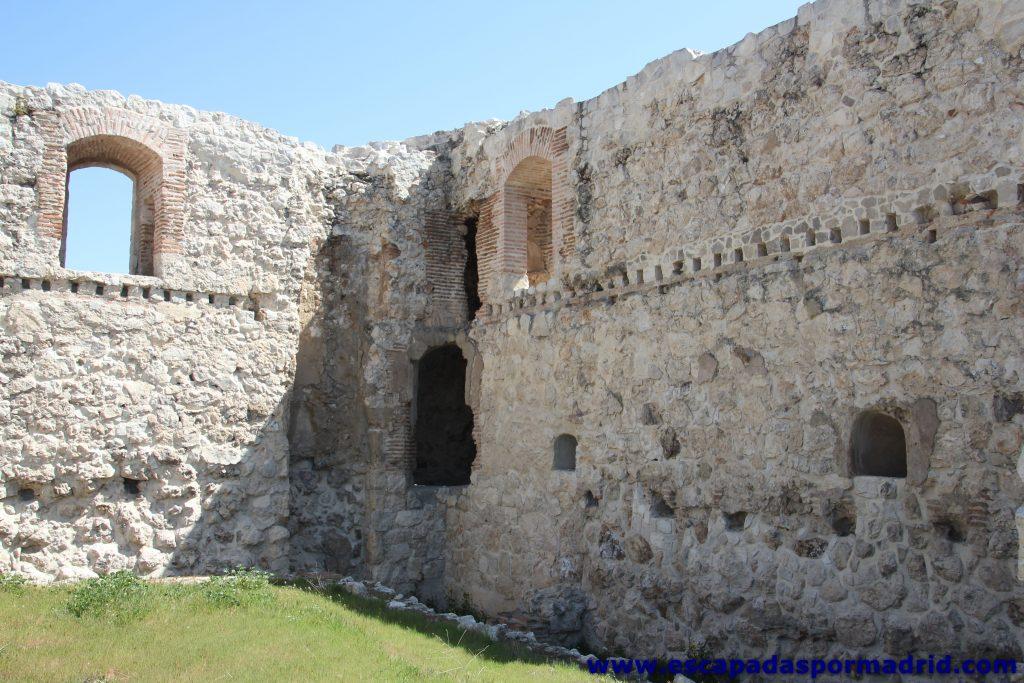foto del Interior del Castillo de la Alameda