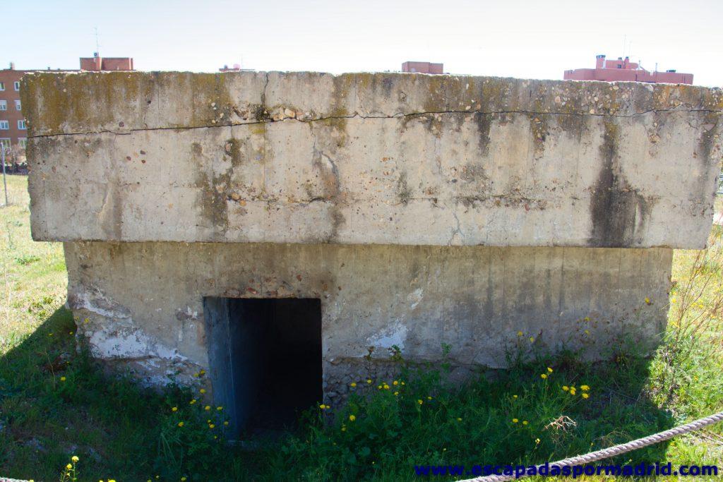 foto de Entrada al Nido de Ametralladora en el Castillo de la Alameda