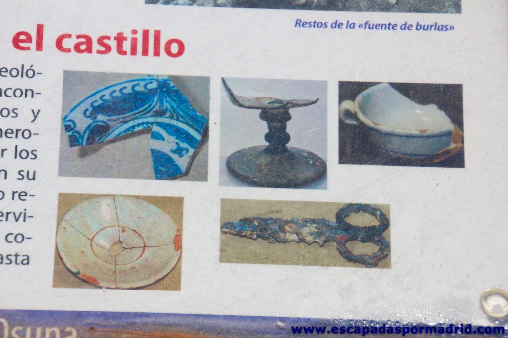 foto de Objetos de los habitantes del castillo