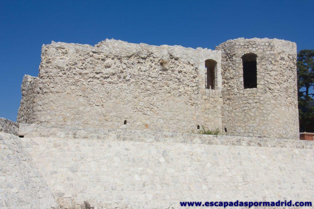 foto del Lateral del Castillo de la Alameda