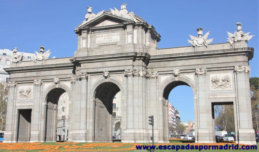 Diseño interior de la Puerta de Alcalá