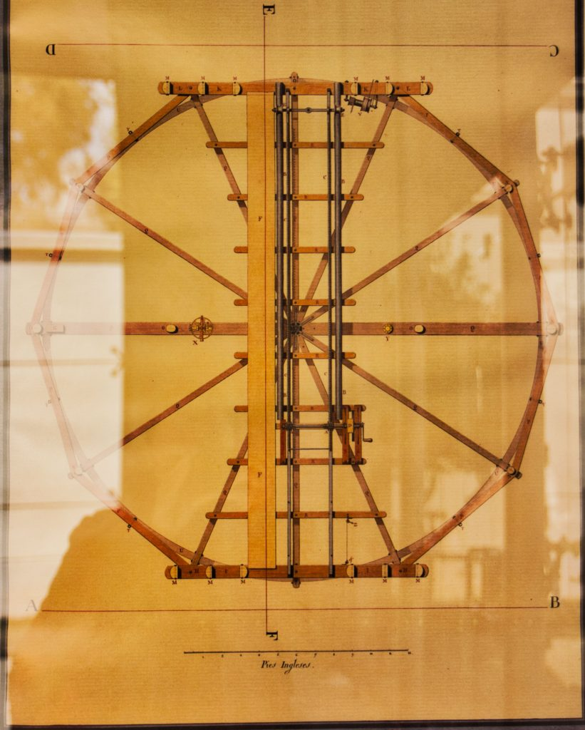 foto del mapa del Telescopio de Herschel (II)