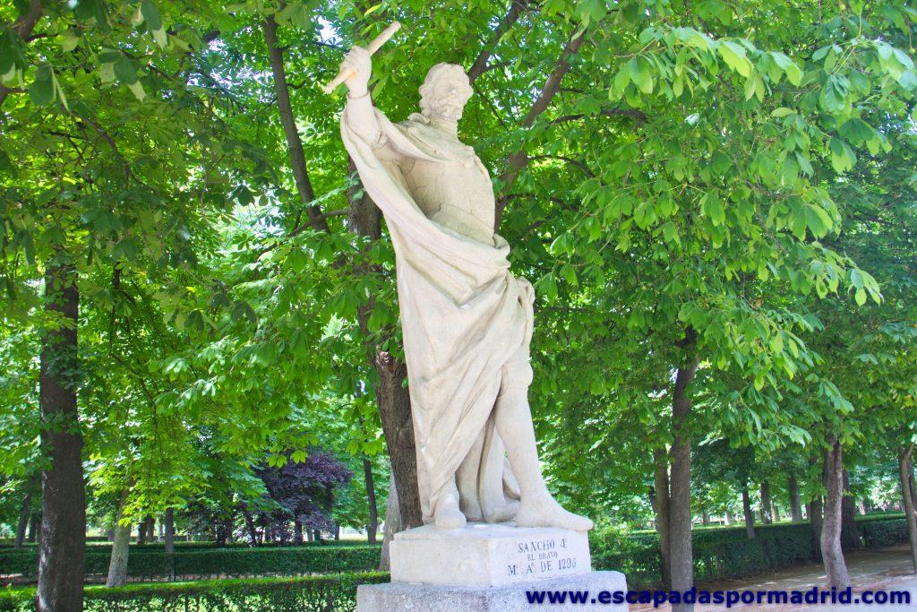 foto del Paseo de las Estatuas