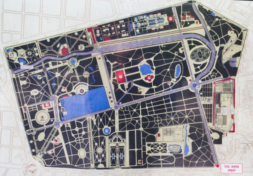 foto de plano del retiro. Del Ayuntamiento de Madrid