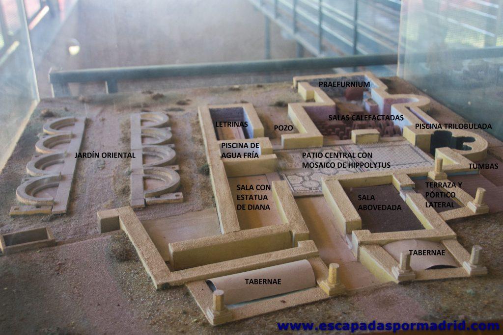 foto de Distribución del yacimiento de la Casa de Hippolytus