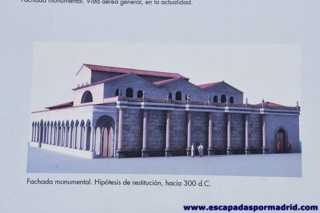 foto de la Fachada Monumental de la Curia