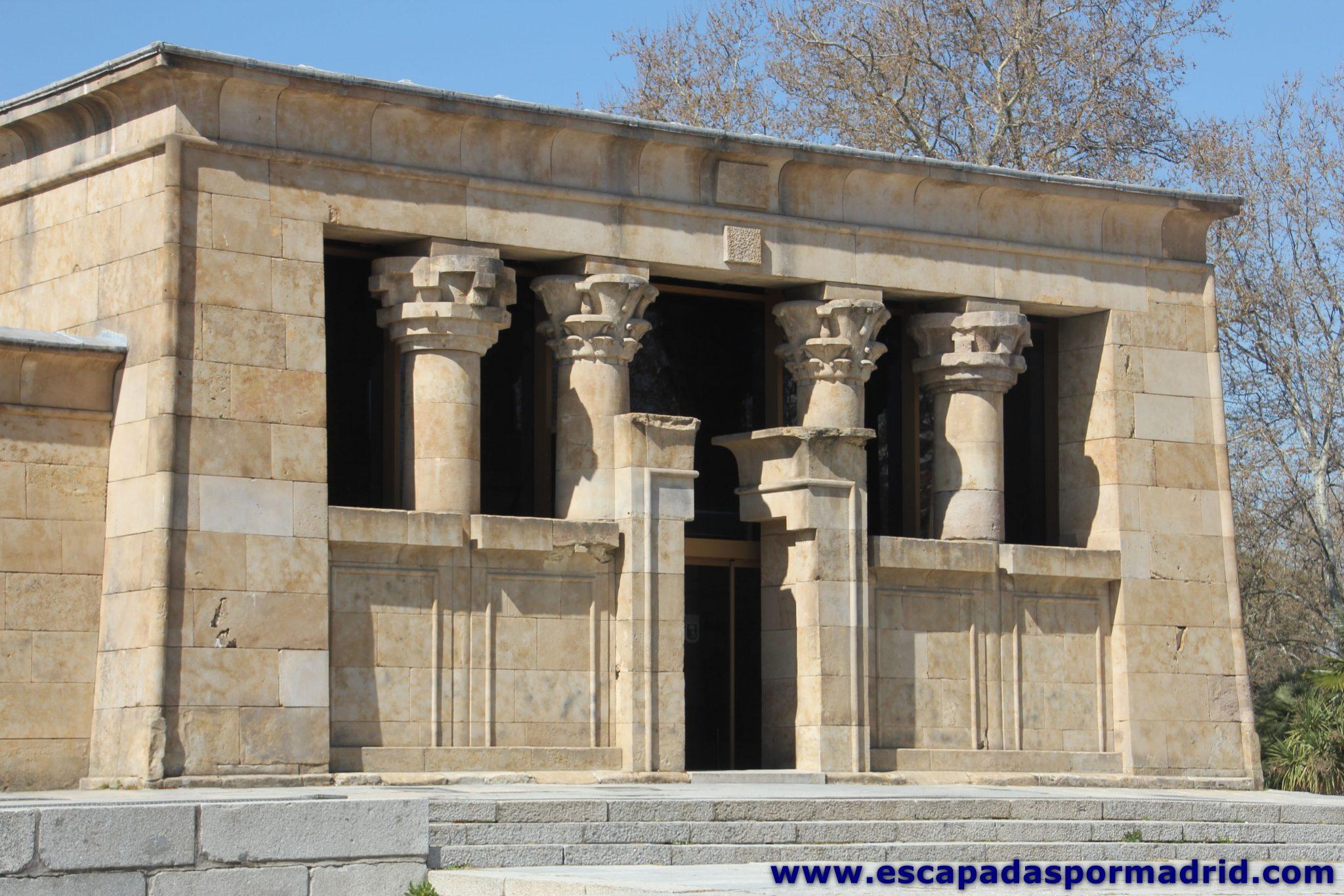 foto de Portada del Templo de Debod