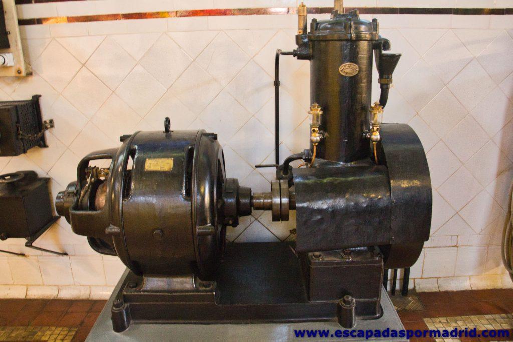 foto de compresor de aire de arranque de emergencia