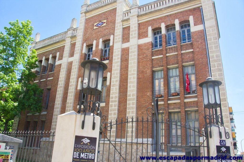 foto del edificio de la Nave de Motores
