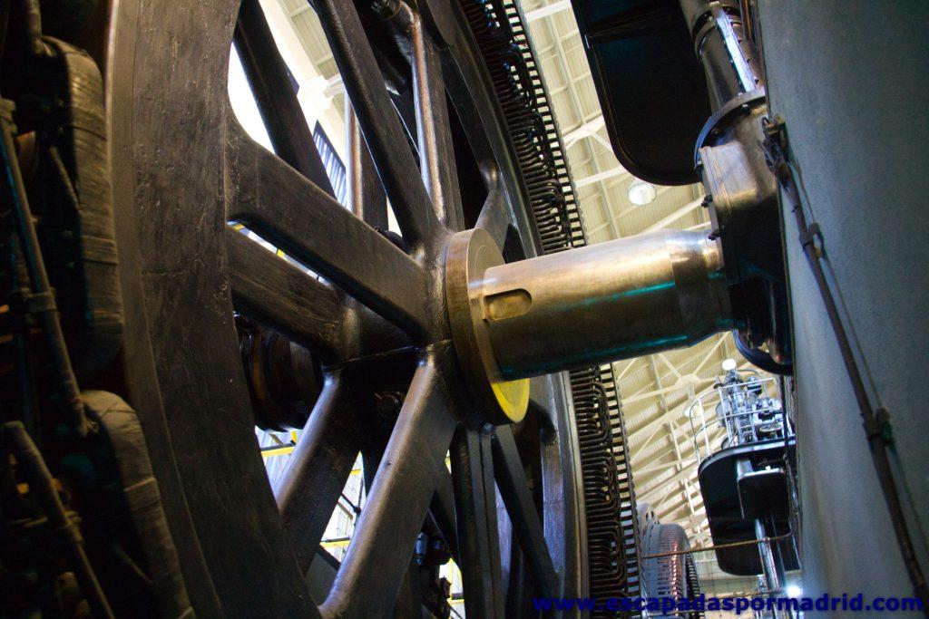 foto de la rueda del alternador