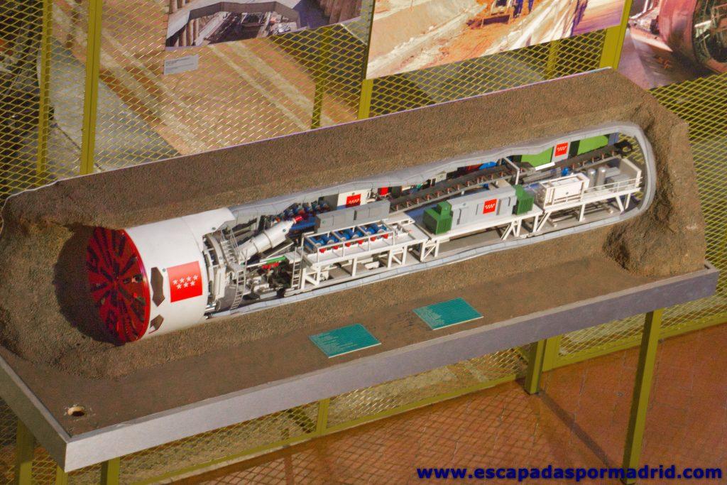 foto de Tuneladora de Metro