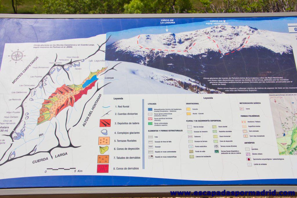 foto del Glaciarismo en el Calvero de la Higuera