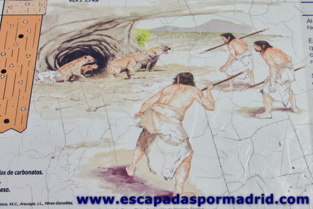 foto de recreación de Cueva de la Buena Pinta