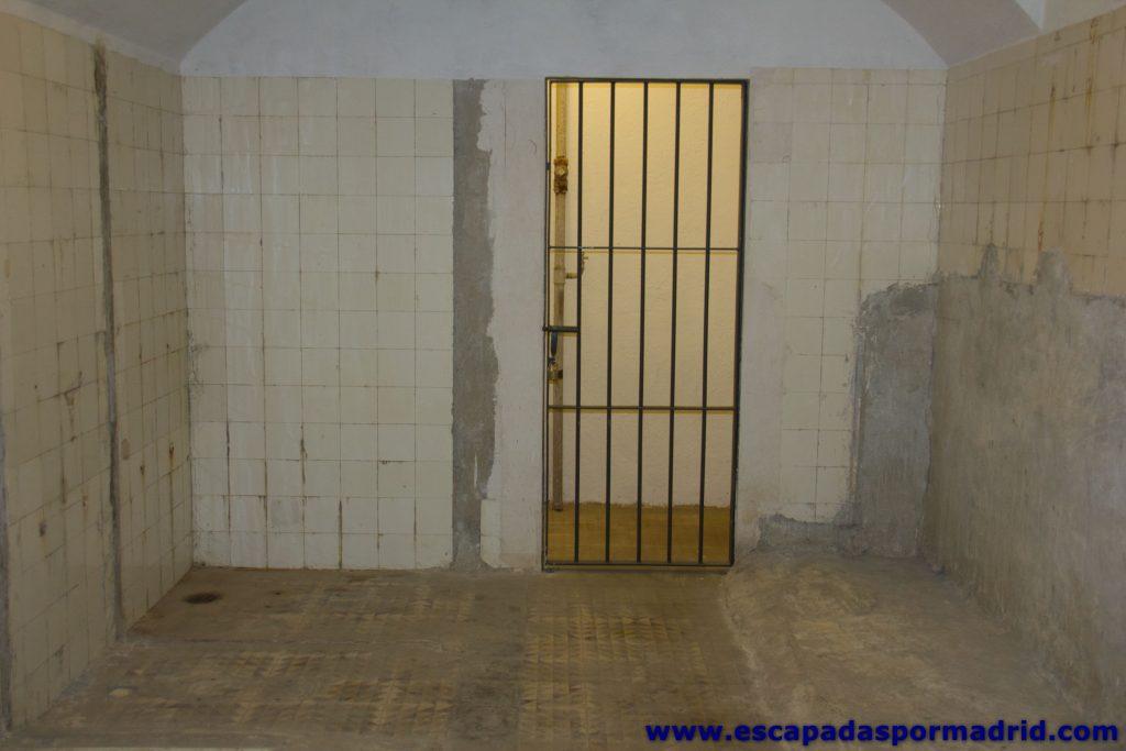 foto de duchas para descontaminación