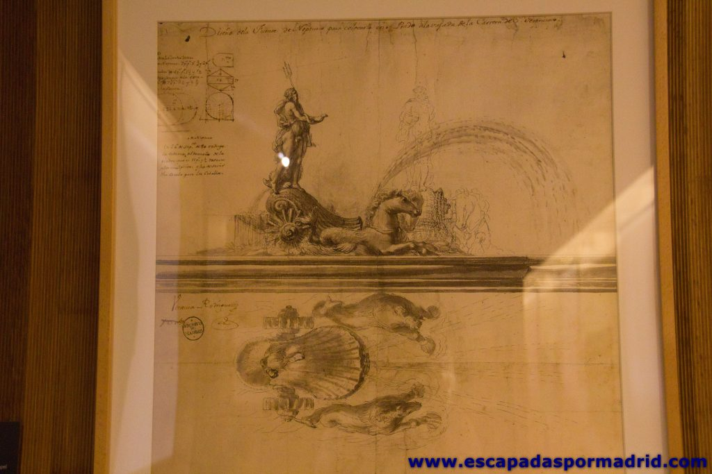 foto de Plano de la Fuente de Neptuno