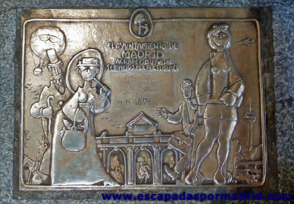 foto de placa de Comercio Centenario