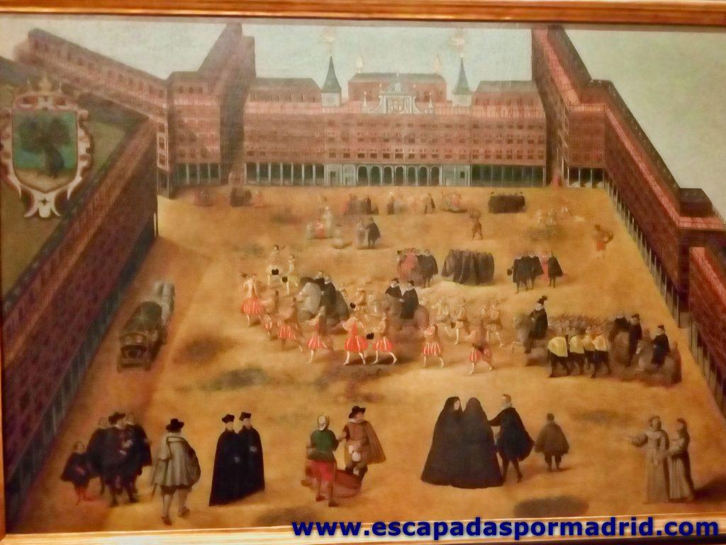 foto de cuadro Perspectiva de la Plaza Mayor