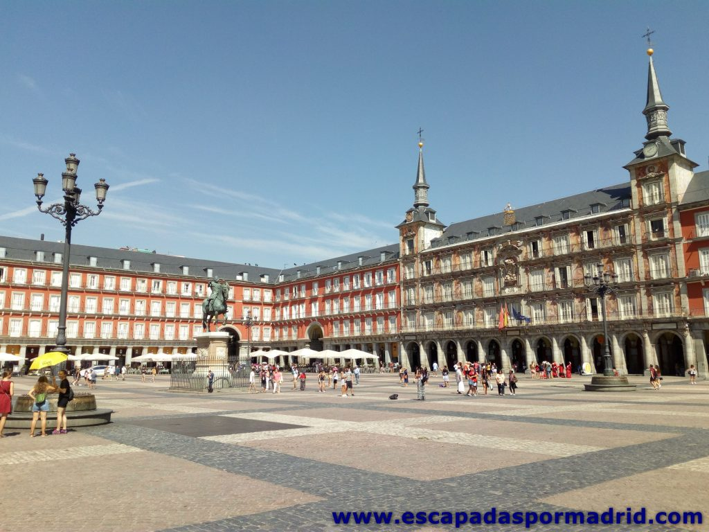 foto de la Plaza Mayor de Madrid