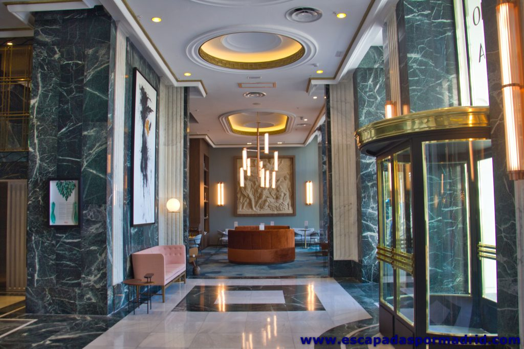 foto del Hall del Hotel Riu Plaza de España