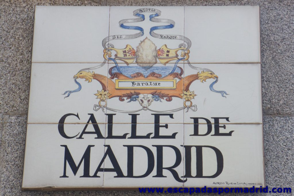 foto de Escudo de Madrid del siglo XII con su lema