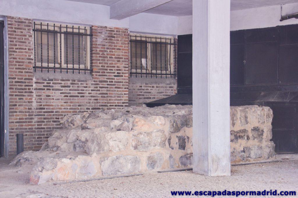 foto de Fragmento de la Muralla Árabe en el nº 5 de la Cuesta de Ramón