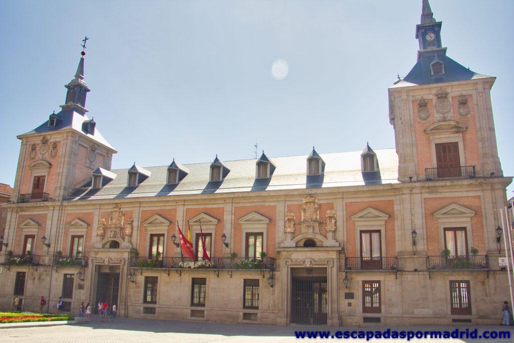 foto de la Casa de la Villa (antiguo ayuntamiento de Madrid)