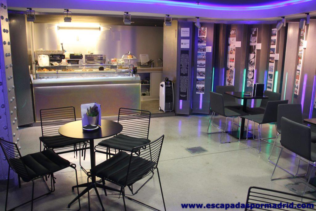 foto de la Cafetería del Espacio Fundación Telefónica