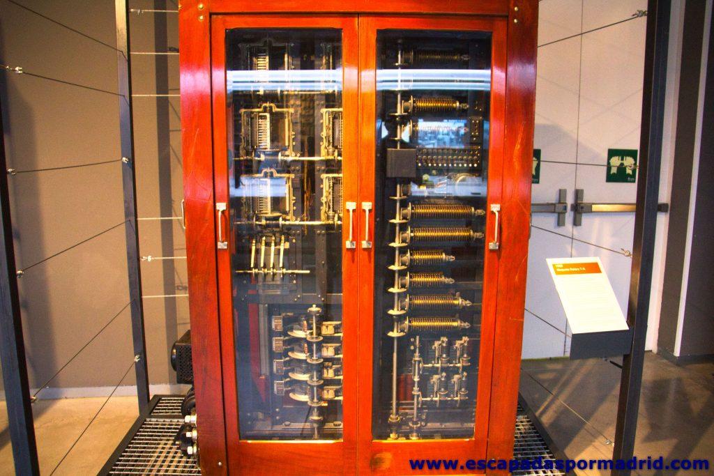 foto de Centralita Automática (Máquina Rotary 7-A)