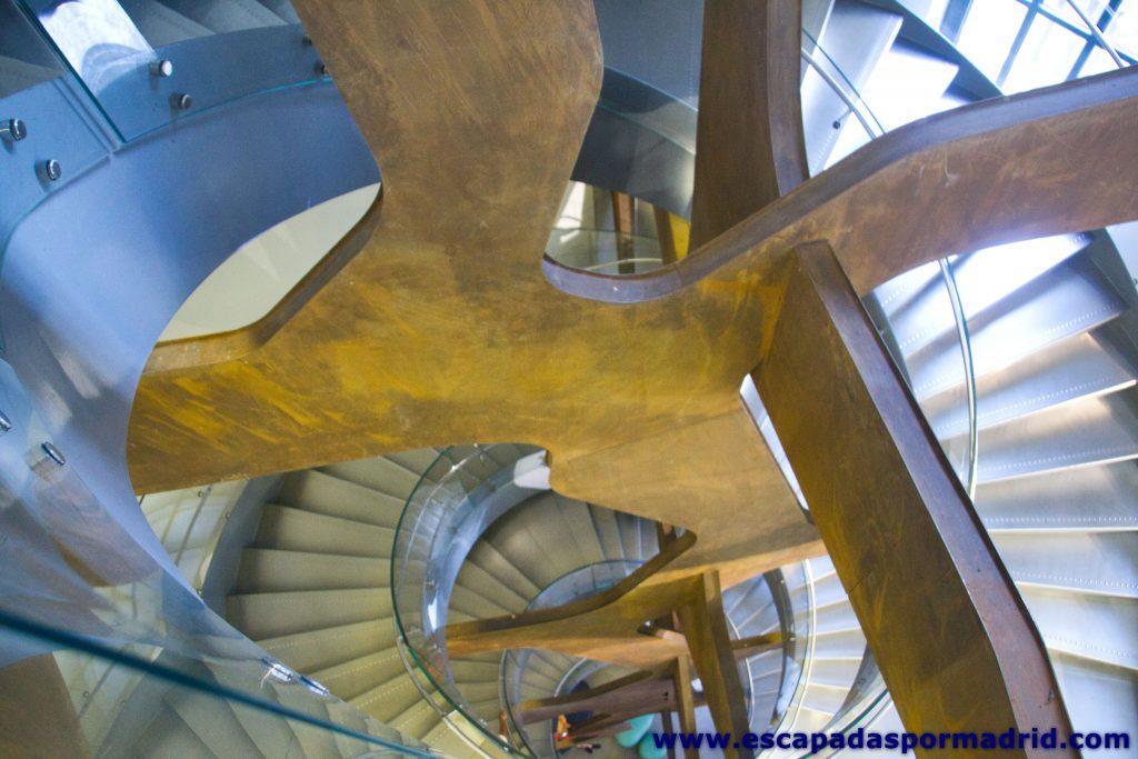 foto de las Escaleras del Espacio Fundación Telefónica