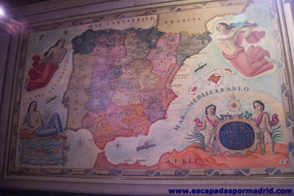 foto de Mapa. Sala de Mapas del Espacio Fundación Telefónica