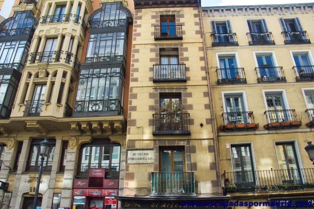 foto de la Fachada frontal de la Casa de Calderón