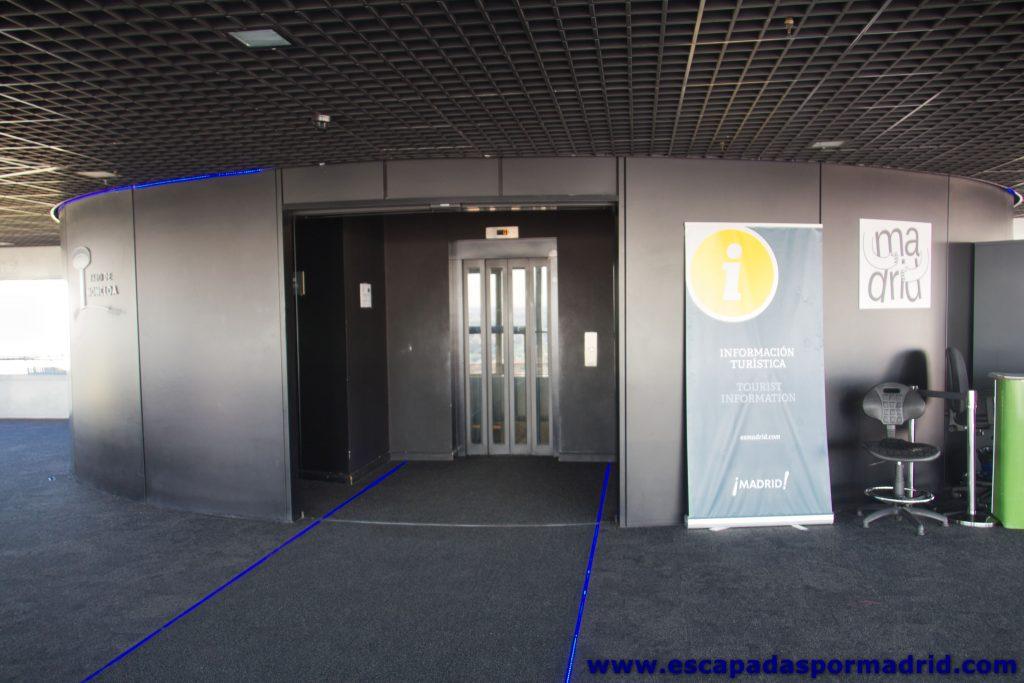 foto del Hall del Mirador del Faro de Moncloa