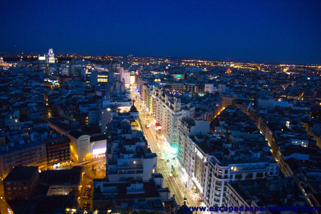 foto de Vistas de la Grán Vía desde el Edificio España