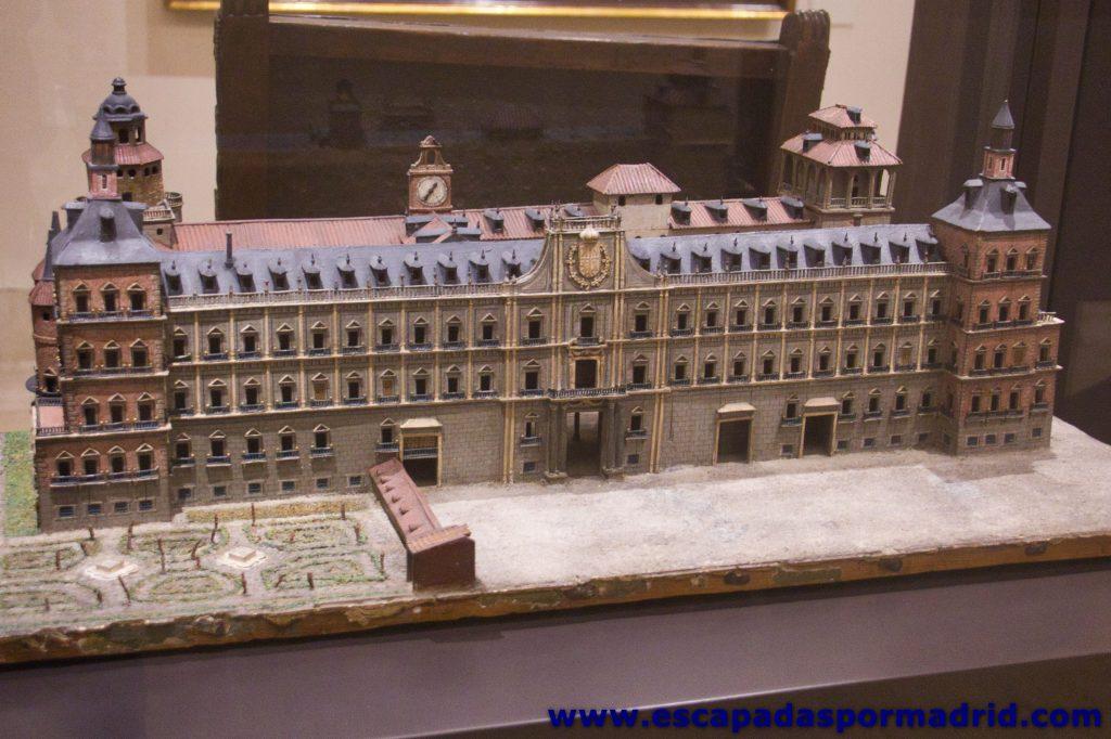 foto de la Maqueta del Alcázar de los Austrias