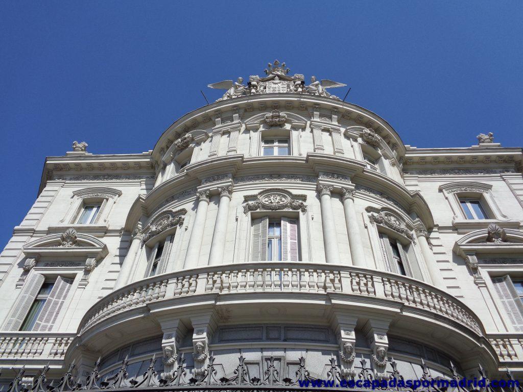 foto de la Fachada principal del Palacio de Linares