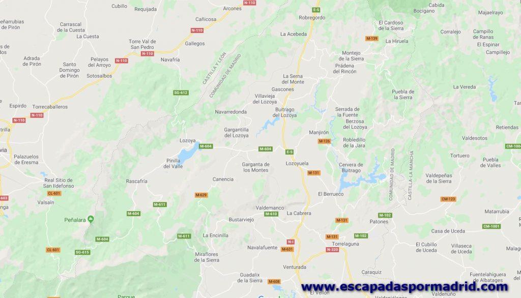 foto de Cómo llegar a Buitrago de Lozoya