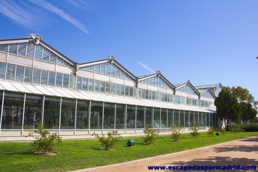 foto del Invernadero del Palacio de Cristal de Arganzuela