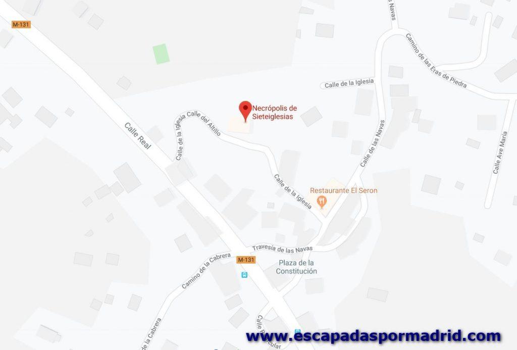 foto de Cómo llegar a la Necrópolis de Sieteiglesias