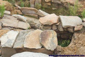 foto de Tumba de cista recientemente excavada