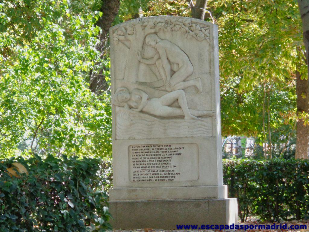 foto del Monumento a Luis de Góngora