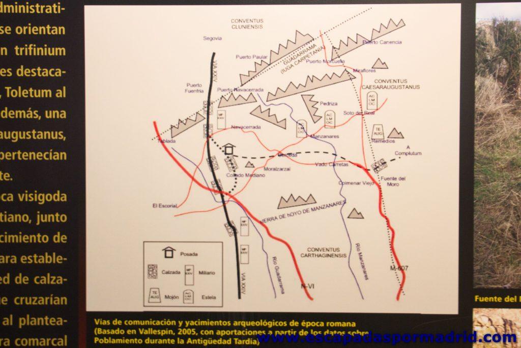 foto de Vías de comunicación en la época romana