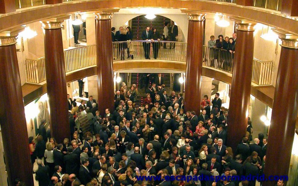 foto del Foyer del Teatro Real